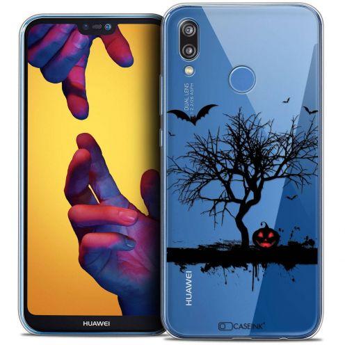 "Carcasa Crystal Gel Extra Fina Huawei P20 LITE (5.84"") Halloween Devil's Tree"
