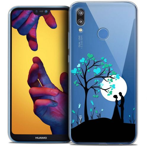 "Coque Crystal Gel Huawei P20 LITE (5.84"") Extra Fine Love - Sous l'arbre"