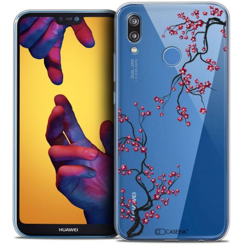 "Coque Crystal Gel Huawei P20 LITE (5.84"") Extra Fine Summer - Sakura"