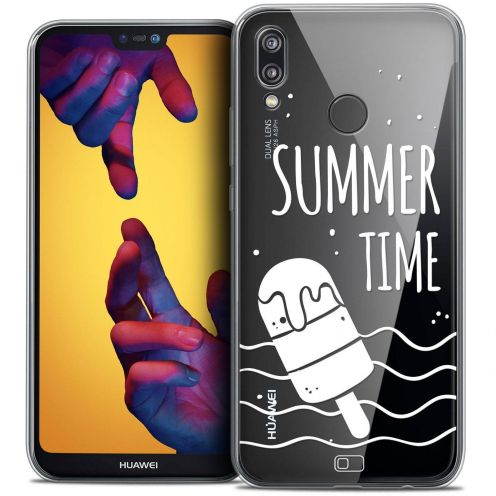 "Coque Crystal Gel Huawei P20 LITE (5.84"") Extra Fine Summer - Summer Time"