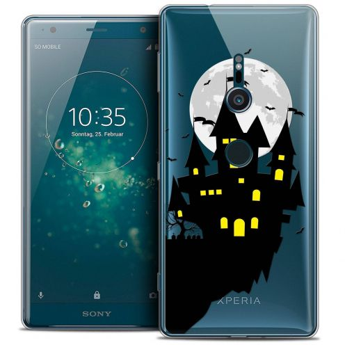 "Carcasa Crystal Gel Extra Fina Sony Xperia XZ2 (5.7"") Halloween Castle Dream"