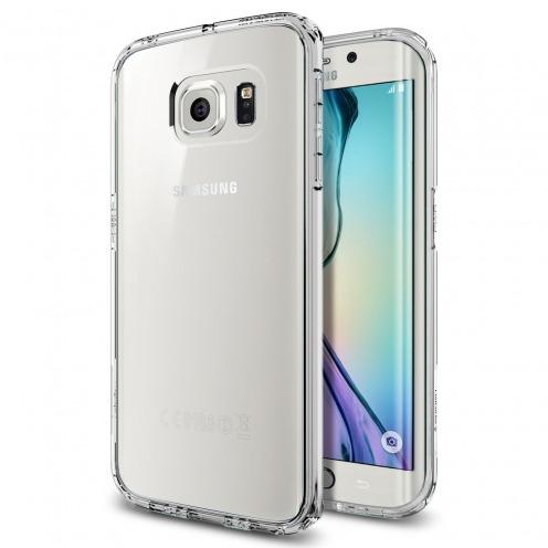 Carcasa Ultra Hybrid Series Crystal Clear SGP Spigen® para Galaxy S6 Edge