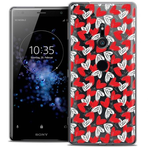 "Carcasa Crystal Gel Extra Fina Sony Xperia XZ2 (5.7"") Love With Love"