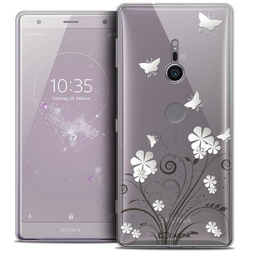 """Coque Crystal Gel Sony Xperia XZ2 (5.7"""") Extra Fine Summer - Papillons"""