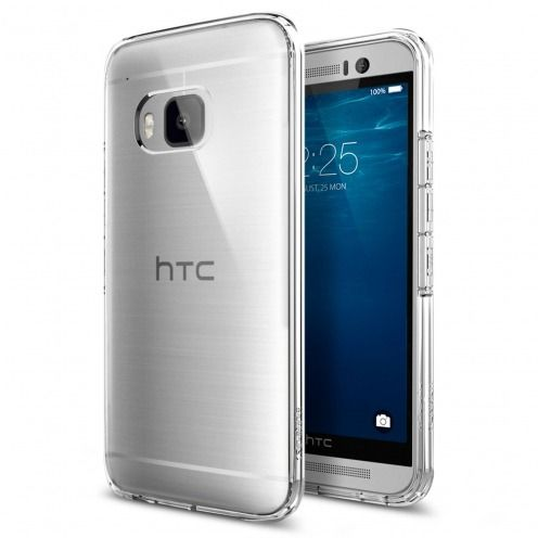 Carcasa Ultra Hybrid Series Crystal Clear SGP Spigen® para HTC One M9