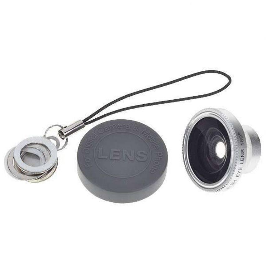 Lente ojo de pez 180 ° magnético de la foto / Video iPhone 5 / iPhone 4 / 4s / 3G