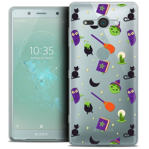 """Coque Crystal Gel Sony Xperia XZ2 Compact (5.0"""") Extra Fine Halloween - Witch Potter"""