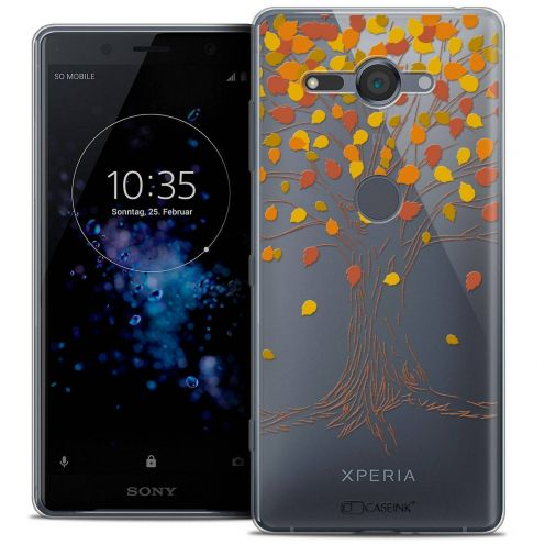 "Coque Crystal Gel Sony Xperia XZ2 Compact (5.0"") Extra Fine Autumn 16 - Tree"
