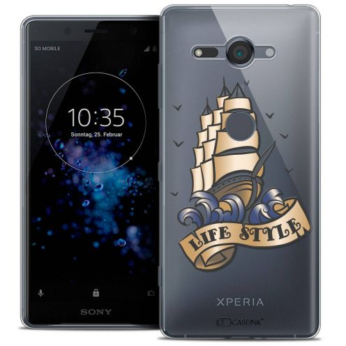 """Coque Crystal Gel Sony Xperia XZ2 Compact (5.0"""") Extra Fine Tatoo Lover - Life Style"""