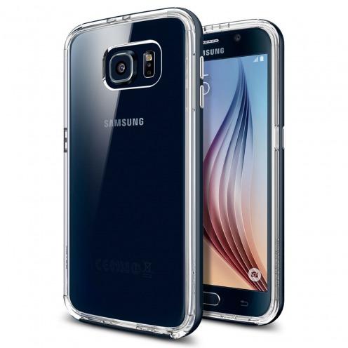 Carcasa Neo Hybrid CC Series Metal Slate SGP Spigen® para Galaxy S6