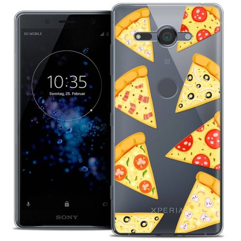"Carcasa Crystal Gel Extra Fina Sony Xperia XZ2 Compact (5.0"") Foodie Pizza"