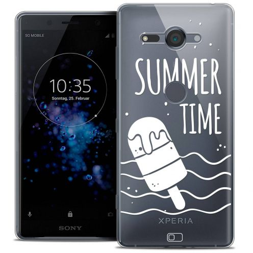 "Carcasa Crystal Gel Extra Fina Sony Xperia XZ2 Compact (5.0"") Summer Summer Time"