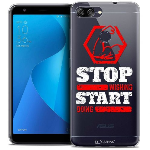 """Coque Crystal Gel Asus Zenfone Max Plus (M1) ZB570TL (5.7"""") Extra Fine Quote - Start Doing"""
