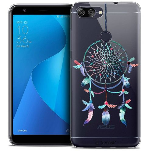 "Coque Crystal Gel Asus Zenfone Max Plus (M1) ZB570TL (5.7"") Extra Fine Dreamy - Attrape Rêves Rainbow"