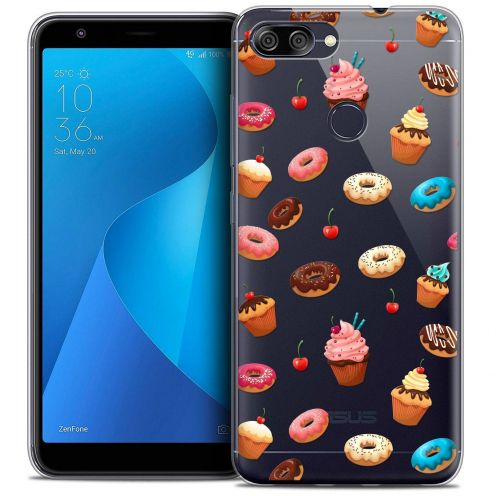 """Coque Crystal Gel Asus Zenfone Max Plus (M1) ZB570TL (5.7"""") Extra Fine Foodie - Donuts"""