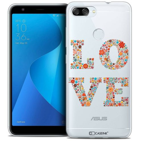 """Coque Crystal Gel Asus Zenfone Max Plus (M1) ZB570TL (5.7"""") Extra Fine Summer - Love Flowers"""