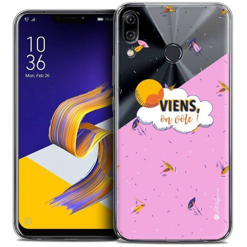 "Coque Gel Asus Zenfone 5z ZS620KL (6.2"") Extra Fine Petits Grains® - VIENS, On Vole !"