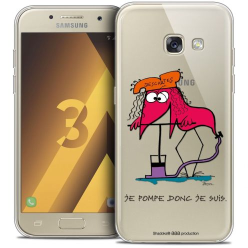 Coque Samsung Galaxy A3 2017 (A320) Extra Fine Les Shadoks® - Donc Je Suis