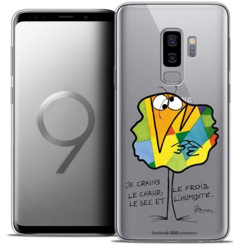 "Coque Gel Samsung Galaxy S9+ (6.2"") Extra Fine Les Shadoks® - Chaud ou Froid"