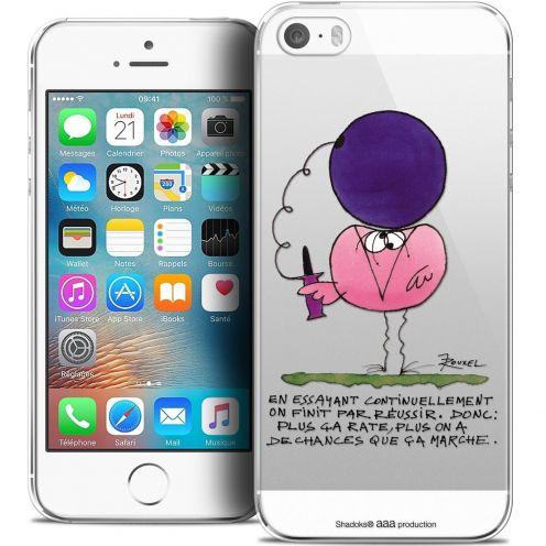 Carcasa Crystal Extra Fina iPhone 5/5s/SE Les Shadoks® En Essayant