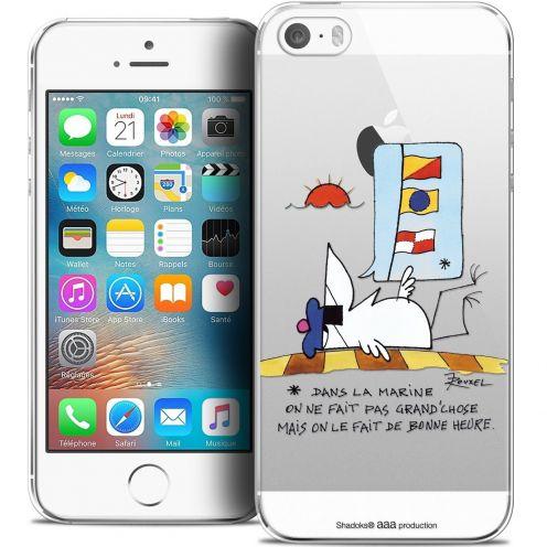 Carcasa Crystal Extra Fina iPhone 5/5s/SE Les Shadoks® La Marine