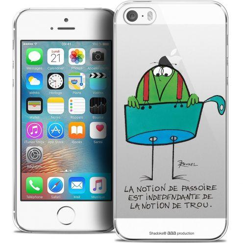 Carcasa Crystal Extra Fina iPhone 5/5s/SE Les Shadoks® La Passoire