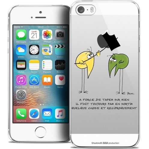 Coque iPhone 5/5s/SE Extra Fine Les Shadoks® - A Force