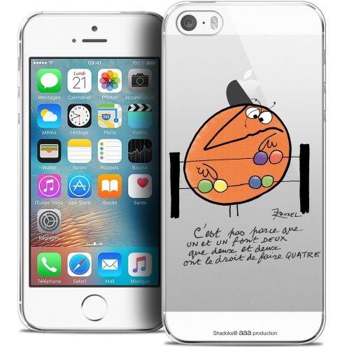 Coque iPhone 5/5s/SE Extra Fine Les Shadoks® - Mathématique