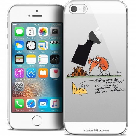 73f25fc6751 Coque iPhone 5/5s/SE Extra Fine Les Shadoks® - Le Travail