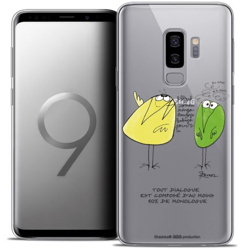 "Coque Gel Samsung Galaxy S9+ (6.2"") Extra Fine Les Shadoks® - Le Dialogue"