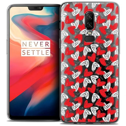 "Coque Crystal Gel OnePlus 6 (6.28"") Extra Fine Love - With Love"