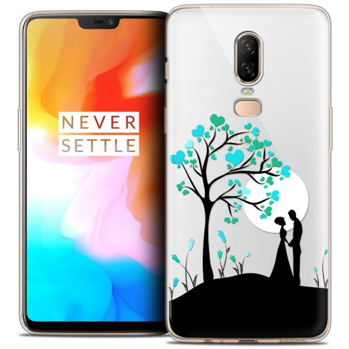 "Coque Crystal Gel OnePlus 6 (6.28"") Extra Fine Love - Sous l'arbre"