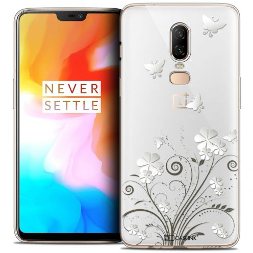 "Coque Crystal Gel OnePlus 6 (6.28"") Extra Fine Summer - Papillons"