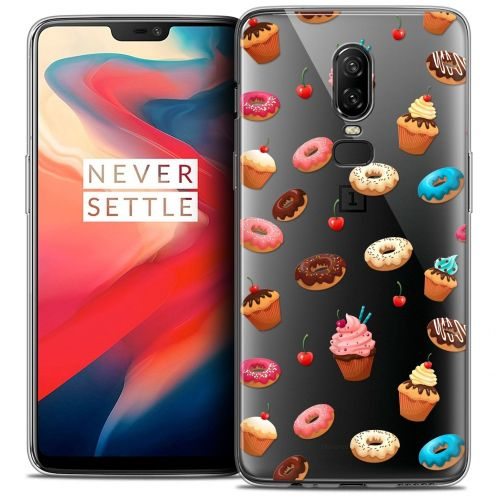 "Coque Crystal Gel OnePlus 6 (6.28"") Extra Fine Foodie - Donuts"