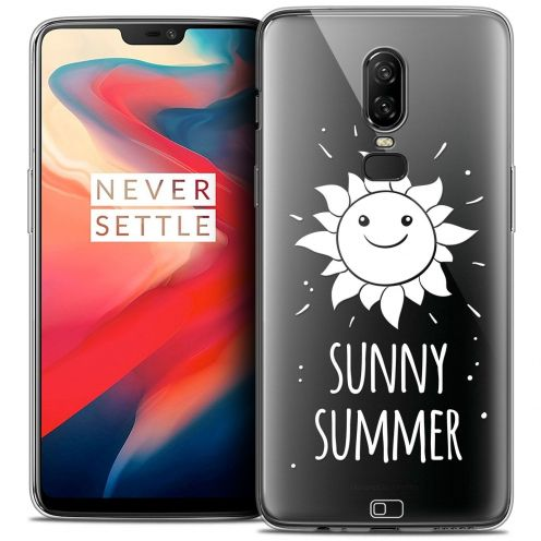 "Coque Crystal Gel OnePlus 6 (6.28"") Extra Fine Summer - Sunny Summer"