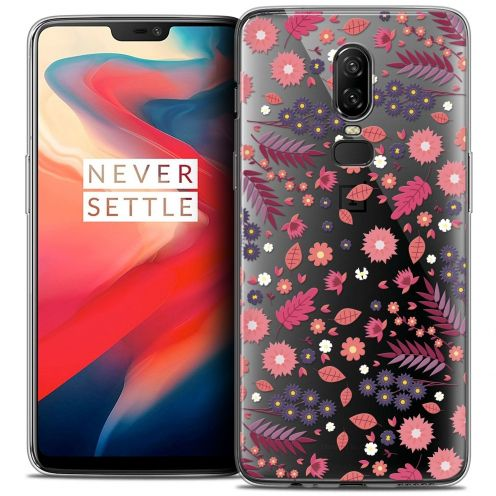 "Coque Crystal Gel OnePlus 6 (6.28"") Extra Fine Spring - Printemps"