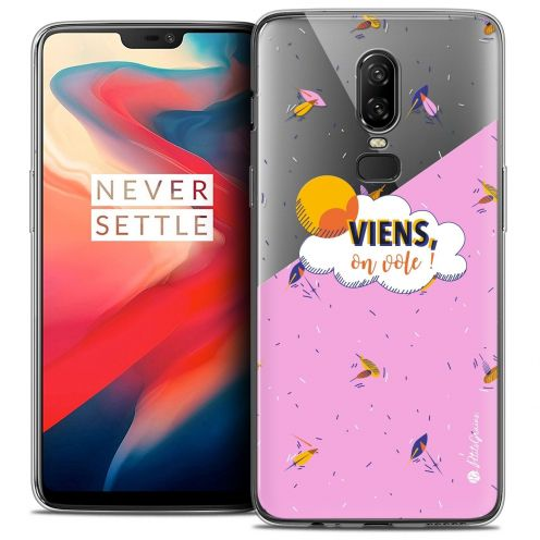 "Coque Gel OnePlus 6 (6.28"") Extra Fine Petits Grains® - VIENS, On Vole !"