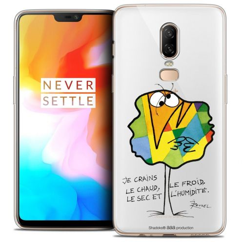 "Coque Gel OnePlus 6 (6.28"") Extra Fine Les Shadoks® - Chaud ou Froid"