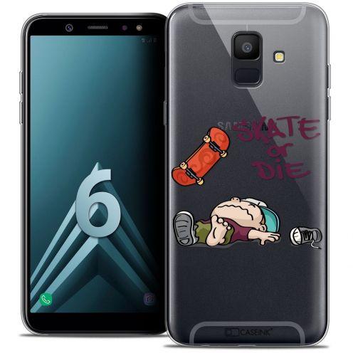 """Coque Crystal Gel Samsung Galaxy A6 2018 (5.45"""") Extra Fine BD 2K16 - Skate Or Die"""