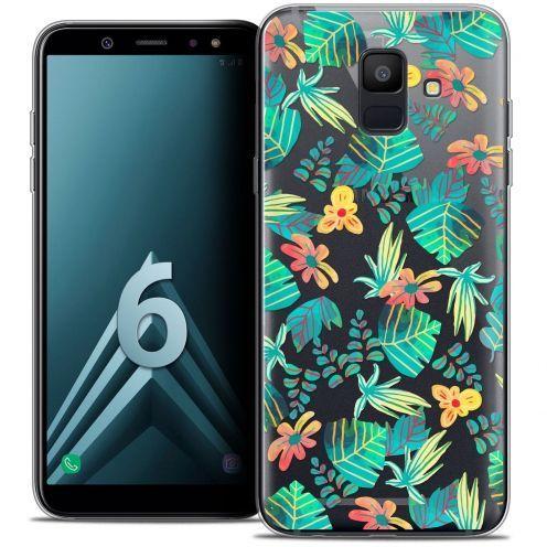 "Carcasa Crystal Gel Extra Fina Samsung Galaxy A6 2018 (5.45"") Spring Tropical"