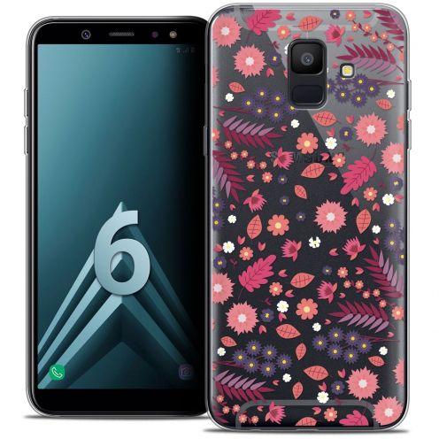 "Carcasa Crystal Gel Extra Fina Samsung Galaxy A6 2018 (5.45"") Spring Printemps"