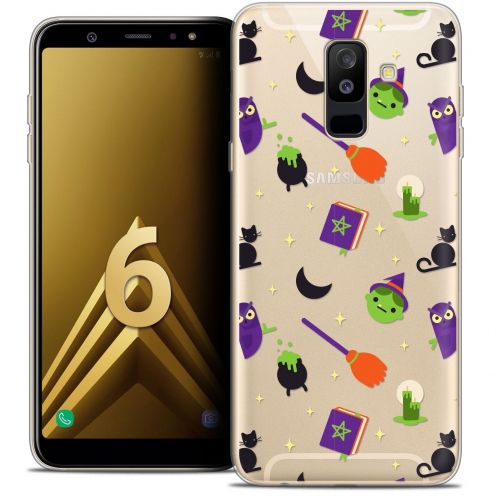 """Coque Crystal Gel Samsung Galaxy A6 PLUS 2018 (6"""") Extra Fine Halloween - Witch Potter"""