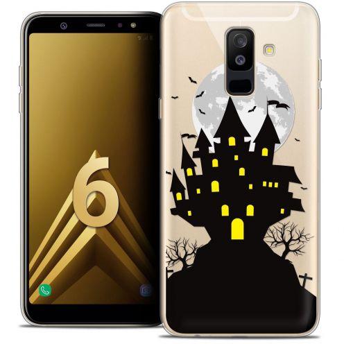 """Coque Crystal Gel Samsung Galaxy A6 PLUS 2018 (6"""") Extra Fine Halloween - Castle Scream"""
