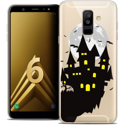 """Coque Crystal Gel Samsung Galaxy A6 PLUS 2018 (6"""") Extra Fine Halloween - Castle Dream"""
