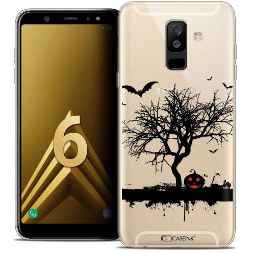 "Coque Crystal Gel Samsung Galaxy A6 PLUS 2018 (6"") Extra Fine Halloween - Devil's Tree"