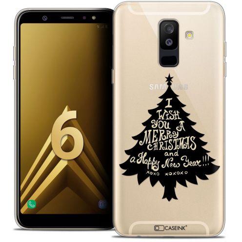 """Coque Crystal Gel Samsung Galaxy A6 PLUS 2018 (6"""") Extra Fine Noël 2017 - XOXO Tree"""