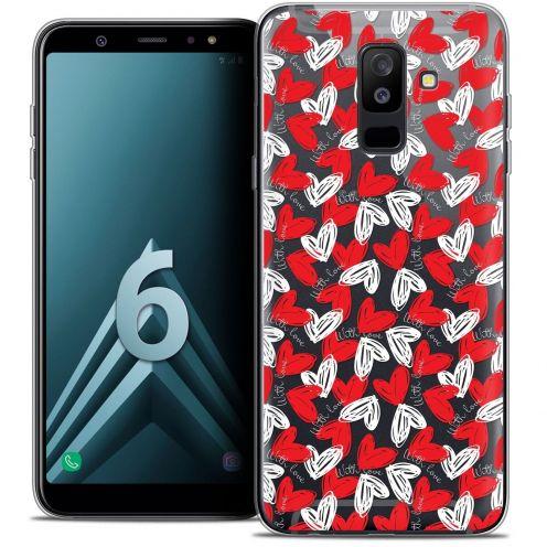 "Coque Crystal Gel Samsung Galaxy A6 PLUS 2018 (6"") Extra Fine Love - With Love"
