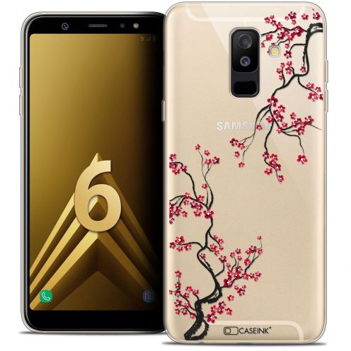 "Coque Crystal Gel Samsung Galaxy A6 PLUS 2018 (6"") Extra Fine Summer - Sakura"