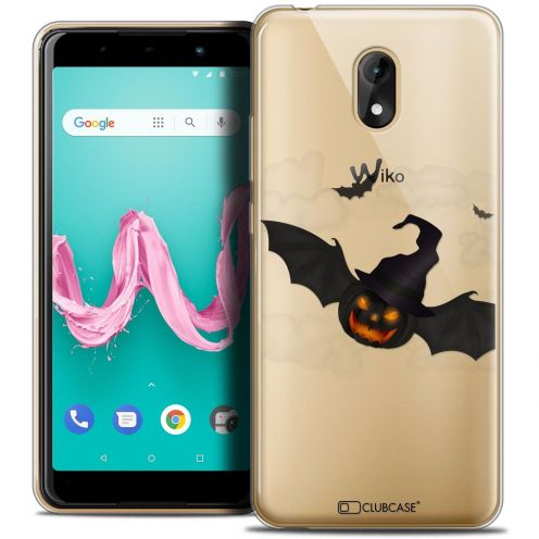 """Coque Crystal Gel Wiko Lenny 5 (5.7"""") Extra Fine Halloween - Chauve Citrouille"""