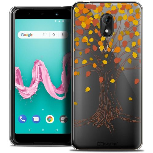 """Coque Crystal Gel Wiko Lenny 5 (5.7"""") Extra Fine Autumn 16 - Tree"""